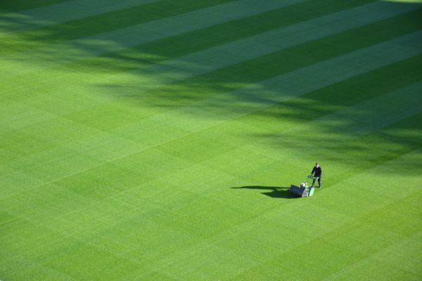 Football pitch maintenance